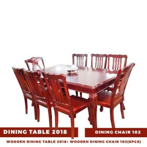 WOODEN DINING TABLE 2018