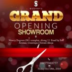 grand opening showroom